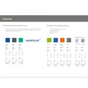 Alantum · Design Manual · Entwicklung der Corporate Identity