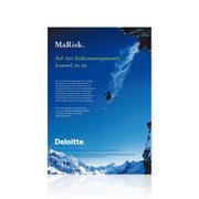 Deloitte · Anzeigengestaltung MaRisk