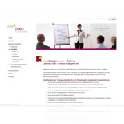 Neues Corporate-Design · Webdesign