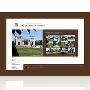 Hotel CarltonAstoria · Homepage Relaunch