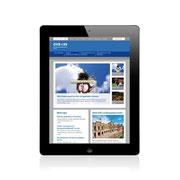 Genossenschaftsverband Bayern · www.gv-bayern.de · Internetauftritt Responsive Webdesign · Dynamische Anpassung für Tablet-Ansicht