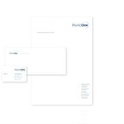 MunicOne · Corporate-Design-Entwicklung · Geschäftsausstattung