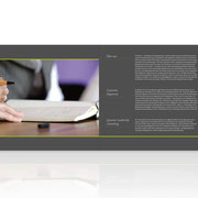 Von Boyen Consulting · Neues Corporate-Design · Imagebroschüre
