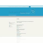 Internetseite Praxis für Logopädie ·  www.logopraxis-wt.de · Dynamische Webseite