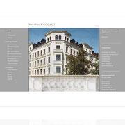 Internetauftritt Architekturbüro Maximilian Weishaupt · www.architekt-weishaupt.de · Content-Management-System