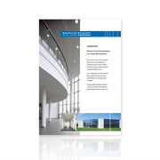 Neues Corporate-Design ·Akquisebroschüre Neubau
