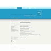 Website Praxis für Logopädie ·  www.logopraxis-wt.de · Dynamische Website