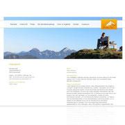 Singlepage-Design Umsetzung mit integriertem CMS · Wordpress