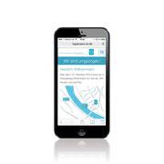 Web-Design Umsetzung mit Content-Management · Smartphone