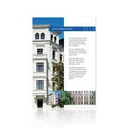 Corporate-Design · Informationsbroschüre Altbau