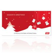 Neugestaltung · Weihnachtskarte