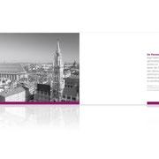 Rechtsanwalt Auer · Corporate-Design-Entwicklung · Imagebroschüre