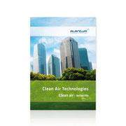 Alantum · Corporate-Design-Entwicklung · Broschüre Clean Air Technology