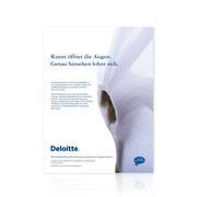 Deloitte · Plakatentwicklung
