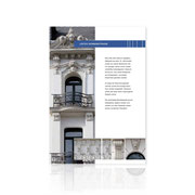 Corporate-Design · Informationsbroschüre Altbausanierung