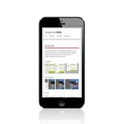 Webauftritt Responsive-Info · Responsive-Lösung · www.responsive-info.de · Ansicht für Smartphone