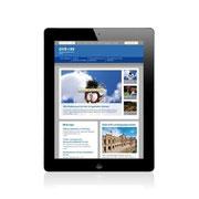 Genossenschaftsverband Bayern · www.gv-bayern.de · Webauftritt Responsive Webdesign · Dynamische Anpassung für Tablet-Ansicht