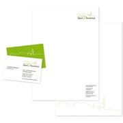 Briefbogen + Geschäftskarte ·  Irschenberg Sport & Tourismus