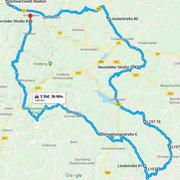 Tour-Verlauf