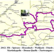 Route Donauquelle