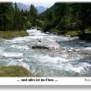 .. im Fluss