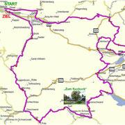 Routen-Verlauf am 29.04.2017