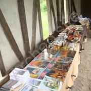 La boutique de l'archéo'site est très variée.