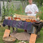 Florian vous présente quelques délicieux mets issus du traités de gastronomie d'Apicius.