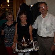 Avec les 2 présidents : Annette Claude et Gilbert Beck.