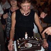 Le gâteau de Rosmarie.