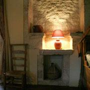 Détail de décoration du gîte La Chevalière