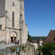 l'église sainte Julite, église restauré du village de Saint Cirq Lapopie