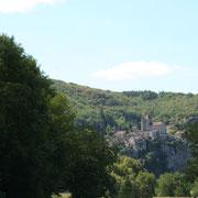 SAint Cirq Lapopie un village situé dans la vallée du Lot sur le parc régional des causses du Quercy