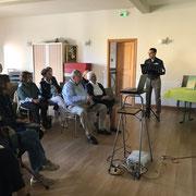 Rencontre organisée par Cabris : Visages et Culture