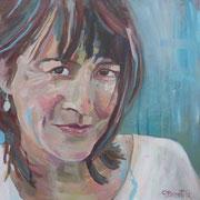 ein Portrait in Acryl( bis 40 x40 cm) kostet ab 200 €