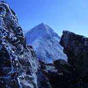 岩と久住山