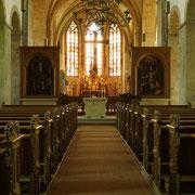 Die Stiftskirche auf Cappenberg ist dem heiligen Evangelisten Johannes geweiht.