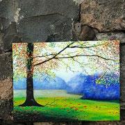 Olio su tela di Graziella Bonafede
