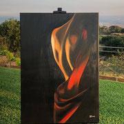 Olio su tela di Deborah Loggia
