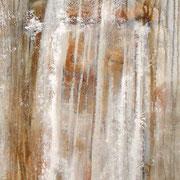 La Sposa acrilico e olio su tela cm 50 x 160