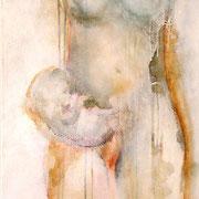 Un amore tutto per me olio su tela cm 50 x 160