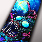 Buscemi Lamp Angler Fish Skateboard