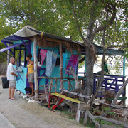 Pumpai´s Bar, am Strand, Carriacou