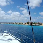 Ansteuerung Kralendyk / Bonaire