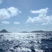 """Das Wasser hat leicht """"erhöhte Temperatur"""": Reise über den Vulkan."""