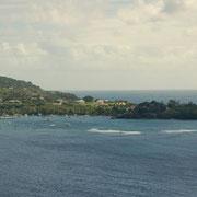 Blick in die Blue Lagoon