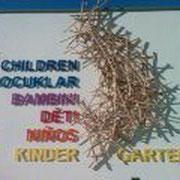 Kindergarten Freistadt - Acryloxbuchstaben durchgefärbt
