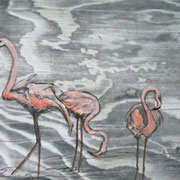 Flamigos III 10 x 15 cm