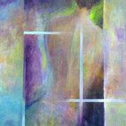 Nachtschatten - 80x60 cm - Acryl auf Leinwand