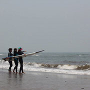 海を見ながら沖に出るときの注意やポイントの説明。